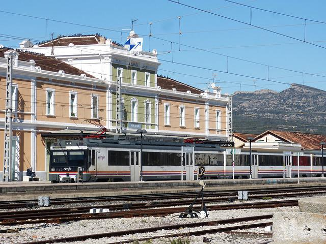 Train, Travel, Railway Line, Station, Architecture