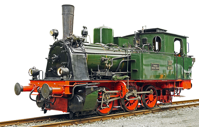 Locomotive, Steam Locomotive, Old, Railway