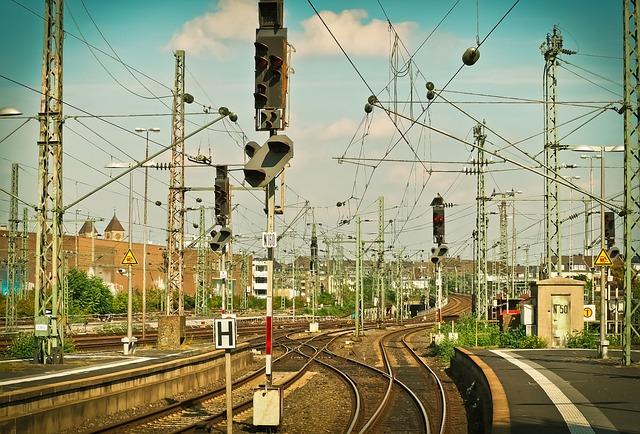 Train, Railway, Station, Travel, Rail Traffic, Rails