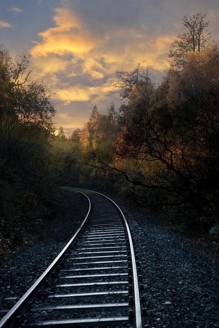 Railway Tracks, Railway, Railway Rails, Seemed