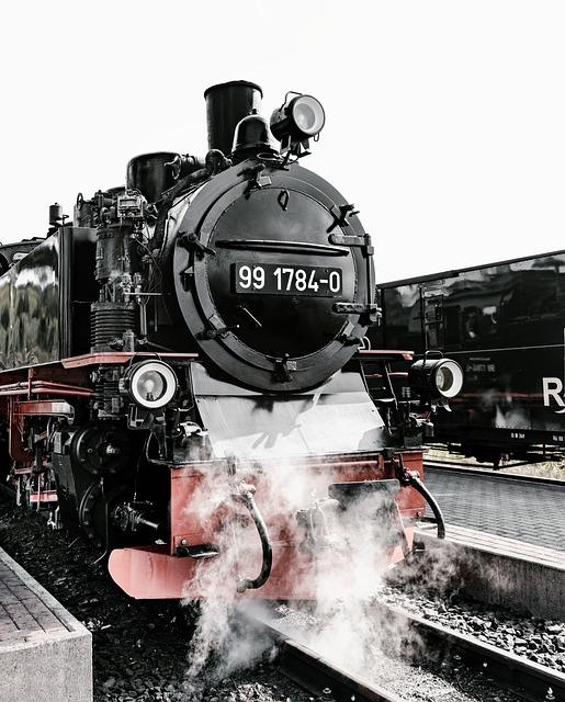 Rasender Roland, Rügen, Railway, Steam Locomotive