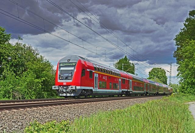 Regional-express, Railway, Deutsche Bahn, Double Decker