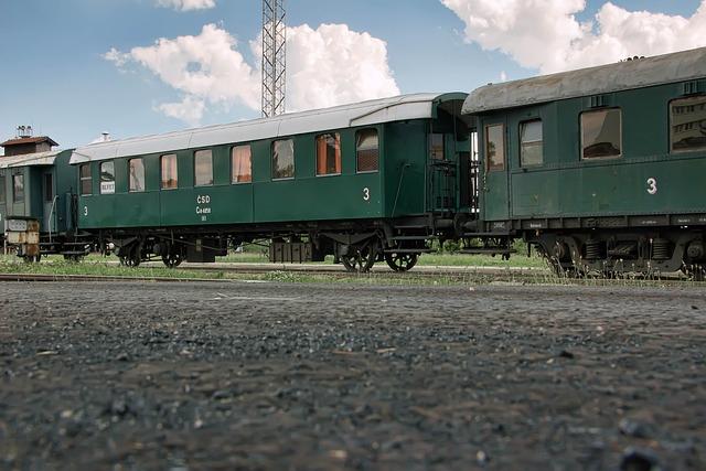 The Historical Train, Wagons, Railway, Slovakia