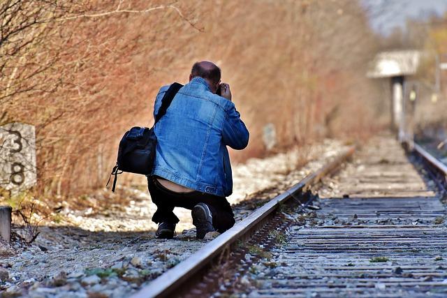Disused Railway Line, Railway Station, Man