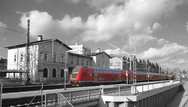 Railway Station, Regio, Mecklenburg, Train