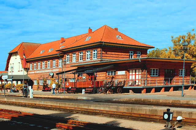 Railway Station, Molli, Kühlungsborn West