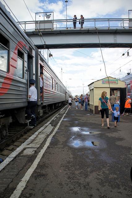 Trans-siberian Railway, Station, Railway Station, Rest