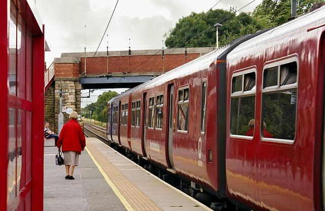 Train, Railway, Transport, The Station, Railway Station