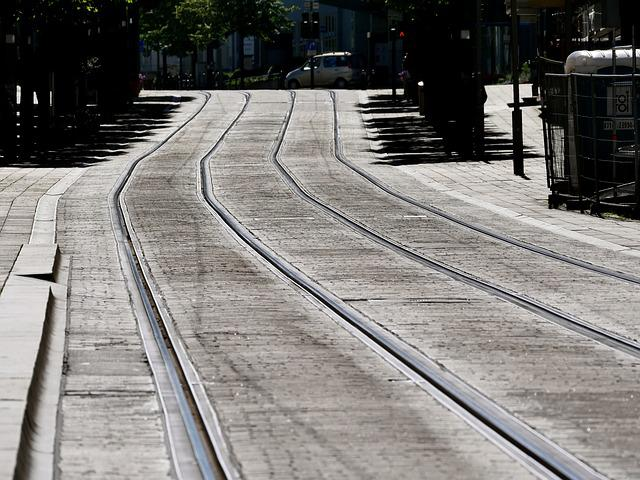 Trace, Gleise, Direction, Train, Seemed, Railway Tracks
