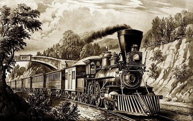 Steam Train, Locomotive, Train, Vintage, Railway