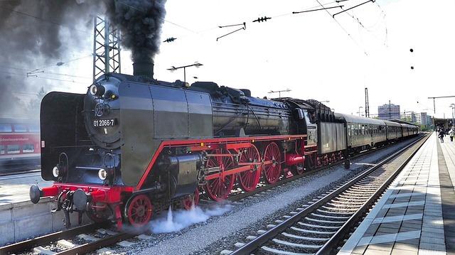 Train, Railway, Motor, Railway Line