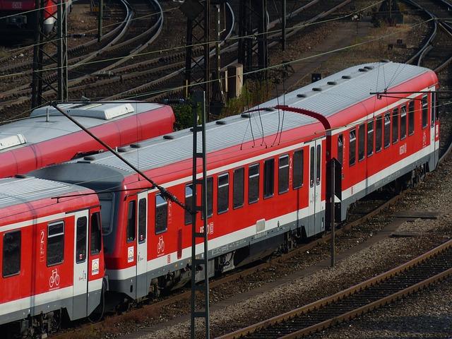 Train, Railway, Rail Traffic, Seemed, Red, Train Car