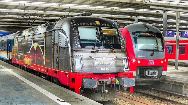 Train, Transport System, Railway, Motor