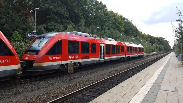 Railway, Train, Transport System, Travel, Race Track
