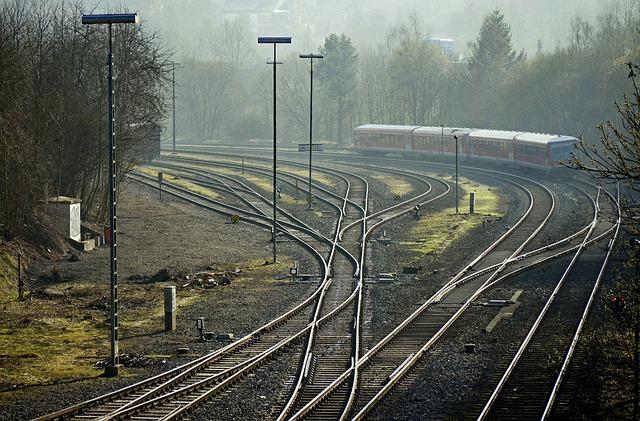 Railways, Routes Tracks, Sidings, Yield, Curve