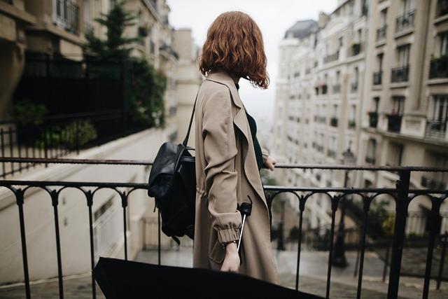 Girl, Rain, Femininity, Beauty, Paris, Sensual, City