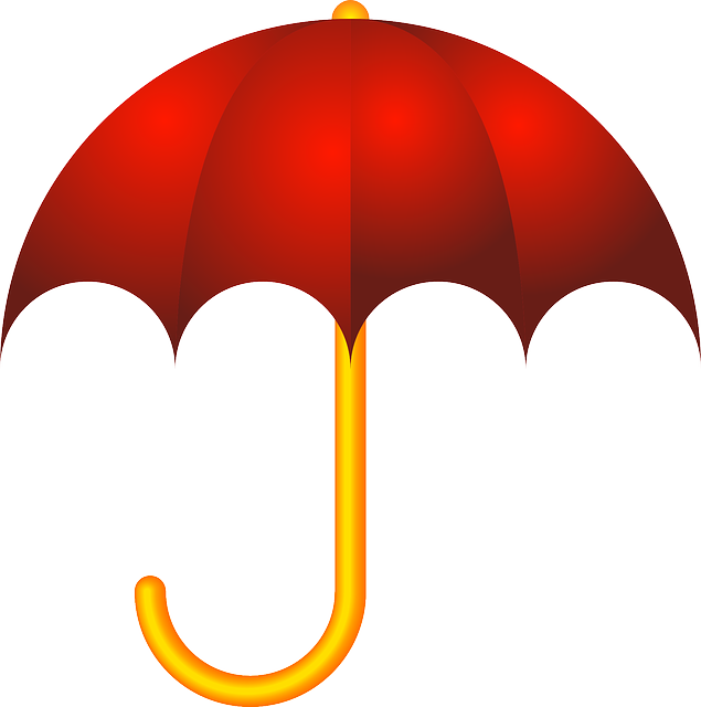 Umberlla, Rain, Spring, Umbrella, Red