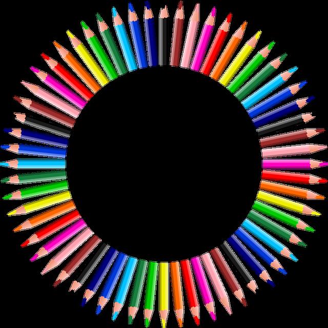 Colorful, Prismatic, Chromatic, Rainbow, Pencil, Write