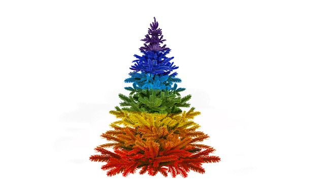 Christmas, Colorful, Rainbow Colors, Advent