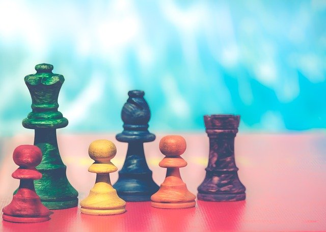 Pawns, Rainbow Colors, Colorful, Pawn, Background