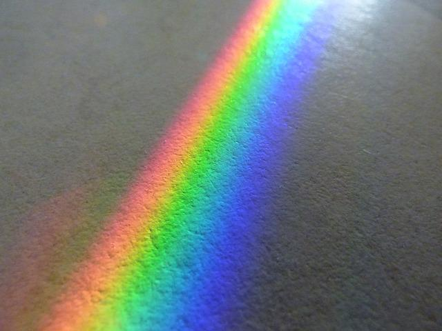Rainbow, Color Spectrum, Solar, Mirror, Mirroring