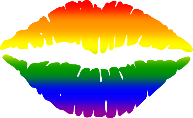 Mouth, Gay, Lips, Flag, Rainbow, Pride, Love, Lesbian