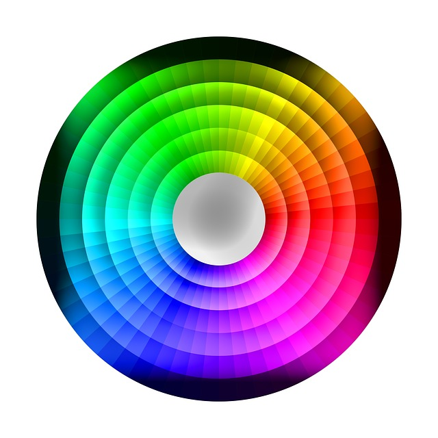 Colour Wheel, Chromatic, Rainbow, Palette, Spectrum