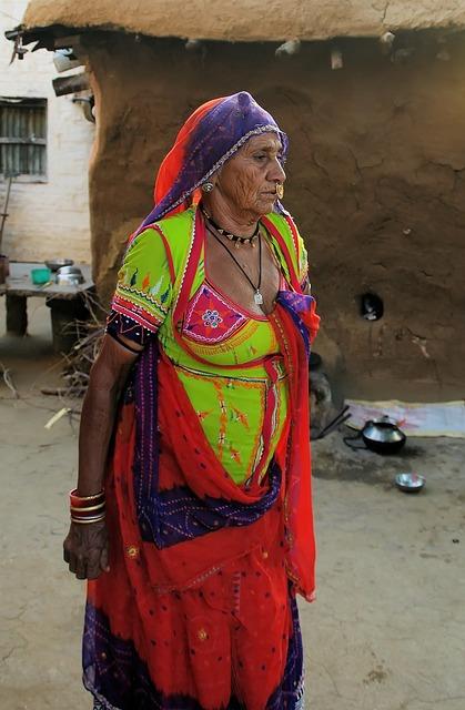 India, Rajastan, Tribe, Bishnoi, Minority, Peasant