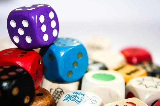 Cube, Play, Colorful, Eye Numbers, Six, Five, Random