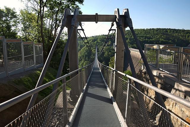 Longest Pedestrian Suspension Bridge, Rappbodetalsperre