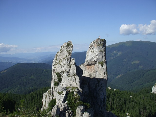 Pietrele Doamnei, Rarau, Romania, Cliff, Rock, Stone