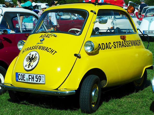 Bmw, Isetta, Adac, Snogging Ball, Oldtimer, Rarity, Old
