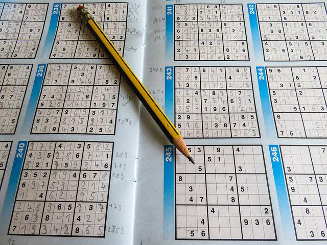 Leisure, Puzzles, Sudoku, Pencil, Rates, Difficult, Pay