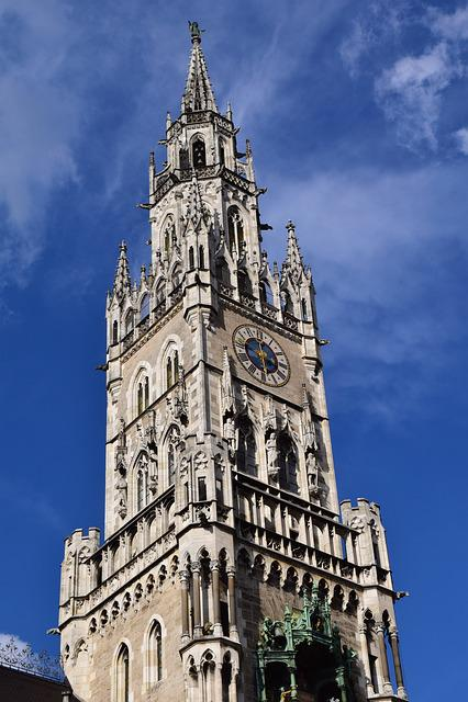 Rathaus Munich, Munich, Tower, Town Hall, Facade