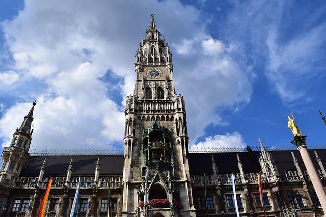 Rathaus Munich, Town Hall, Munich, Historically, Facade