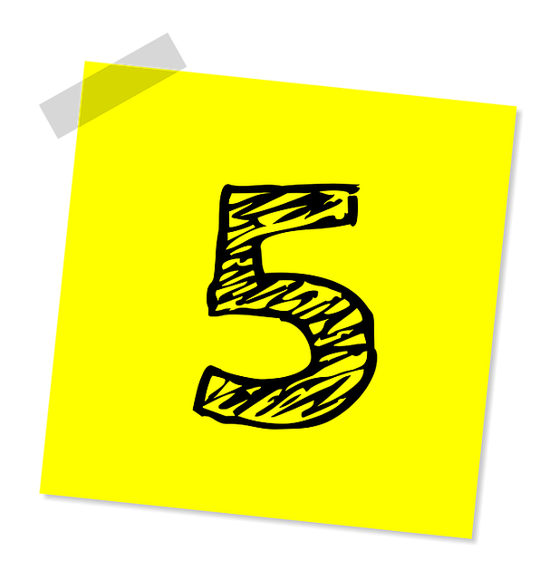 Five, 5, Number, Ranking, Rating, Business, Symbol