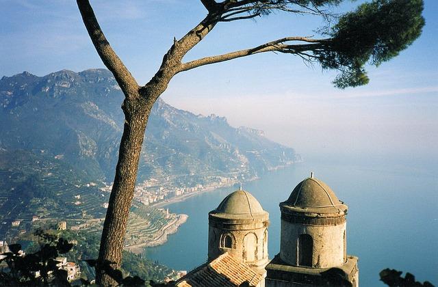 Ravello, South Italy, Near Amalfi, Scenic, Sea