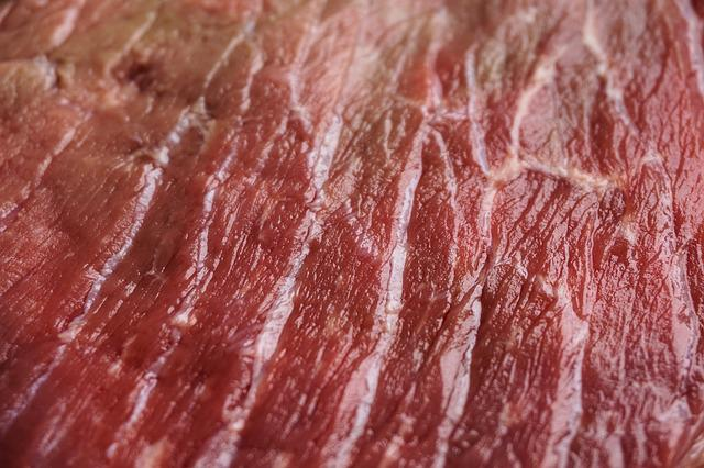 Meat, Structure, Raw, Raw Meat, Beef, Butcher