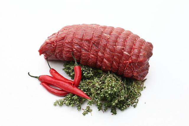 Roast Beef, Horse, Horses Roast Beef, Raw, Food, Dining