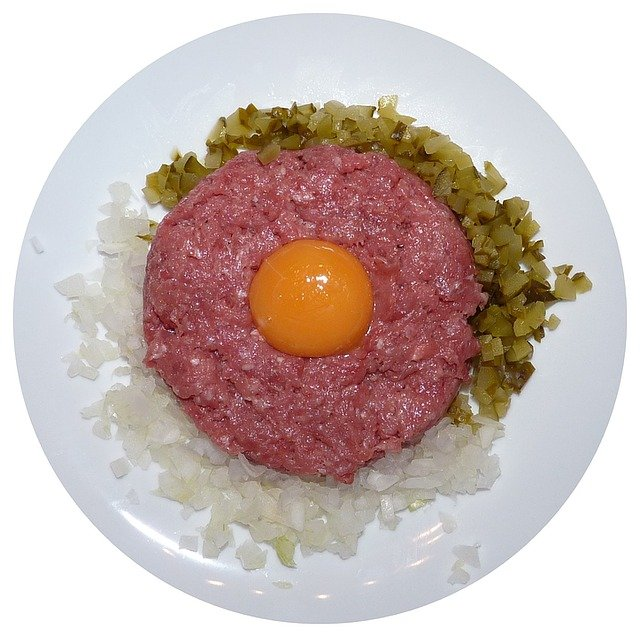 Tartare Steak, Raw Meat, Minced Beef Steak
