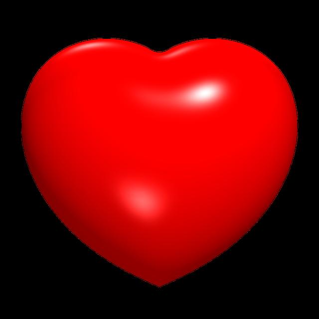 Hearts, 3d, Math, Ray Traced, Algebra, Surface
