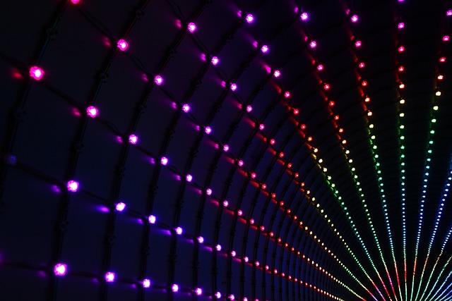 Stripes, Rays, Lights, Color, Stars, Glitter, Series