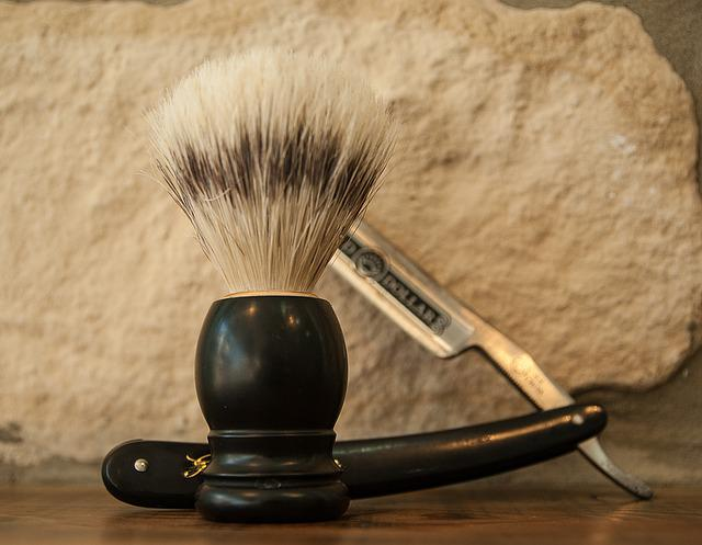 Razor, Beard, Barber, Badger, Shaving