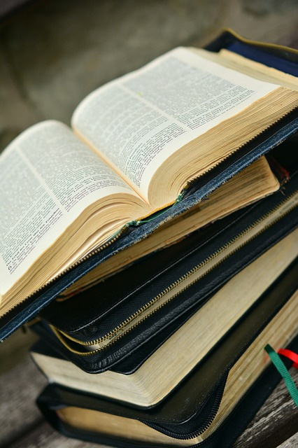 Bible, Book, Stack, Holy Scripture, Christianity, Read