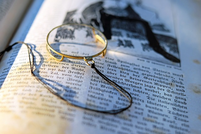 Monocle, Old, Sehhilfe, Glass, Larger View, Reading Aid