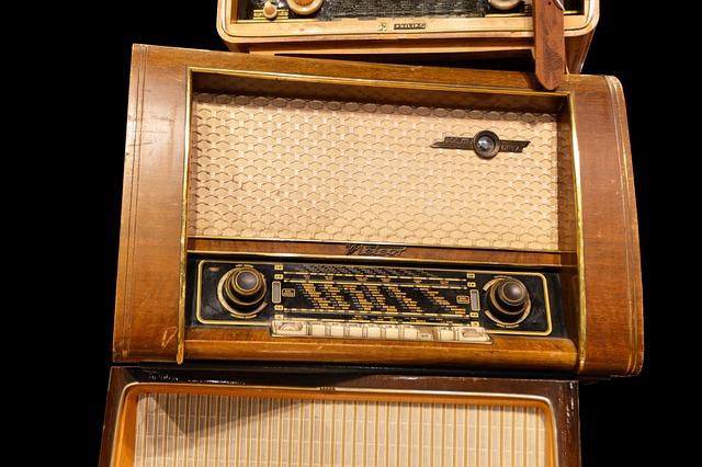 Radio, Tubes Radio, Receiver, Pipe, Technology, 50s