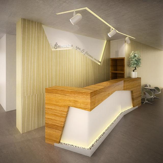 Reception, Hotel, Desk, Interior Design, Architecture
