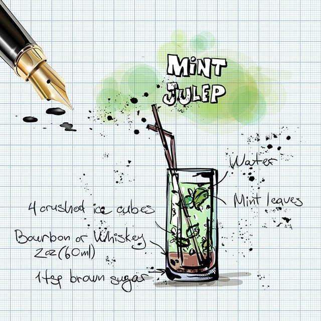 Mint Julep, Cocktail, Drink, Alcohol, Recipe, Party