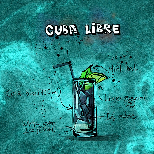 Cocktail, Cuba Libre, Alcohol, Party, Recipe, Drink