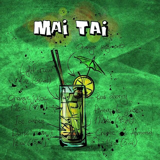 Cocktail, Mai Tai, Alcohol, Party, Recipe, Drink